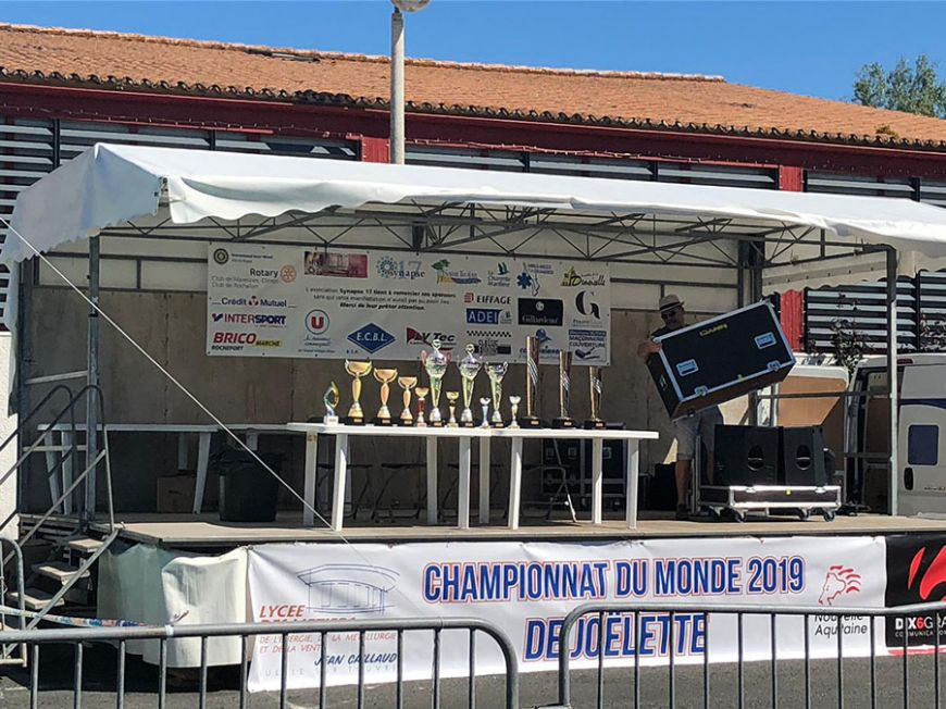 Championnat du monde Joëlette 2019 Photo © DR - Association Robert-Debré